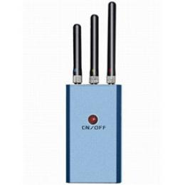 Portable GPS L1 and GPS L2 and WIFI Signal Jammer