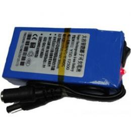 Two Way Output DC 12V 3000mAh