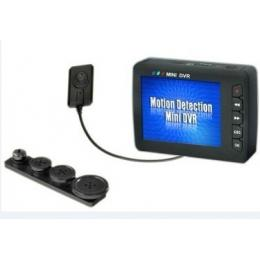 Mini DVR with Button Camera