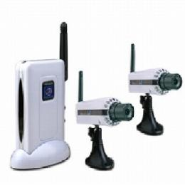 2.4G Wireless receiver and Night vision 2 camera