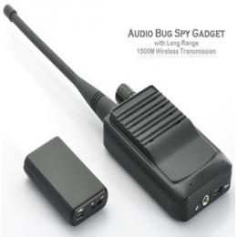 Audio Spy Gadget with Long Range 1500M Wireless Transmission