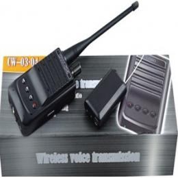 Audio Spy Gadget with Long Range 1500M Wireless Transmission with Recorder
