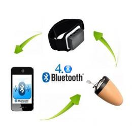 spy wireless earpiece Bluetooth Armbands 4 WATT Amplified