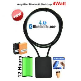 spy mini earpiece 4.0 bluetooth loopset 4 Watt with MP3 function