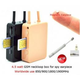 GSM 4.0 Bluetooth Neckloop with Earpiece