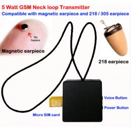 Micro GSM Box Earpiece Transmitter