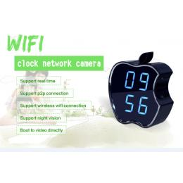 HD 720P APPlE WiFI Clock Camera